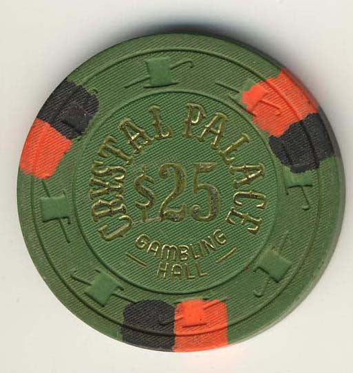 Crystal Palace Casino Laughlin $25 Chip 1978