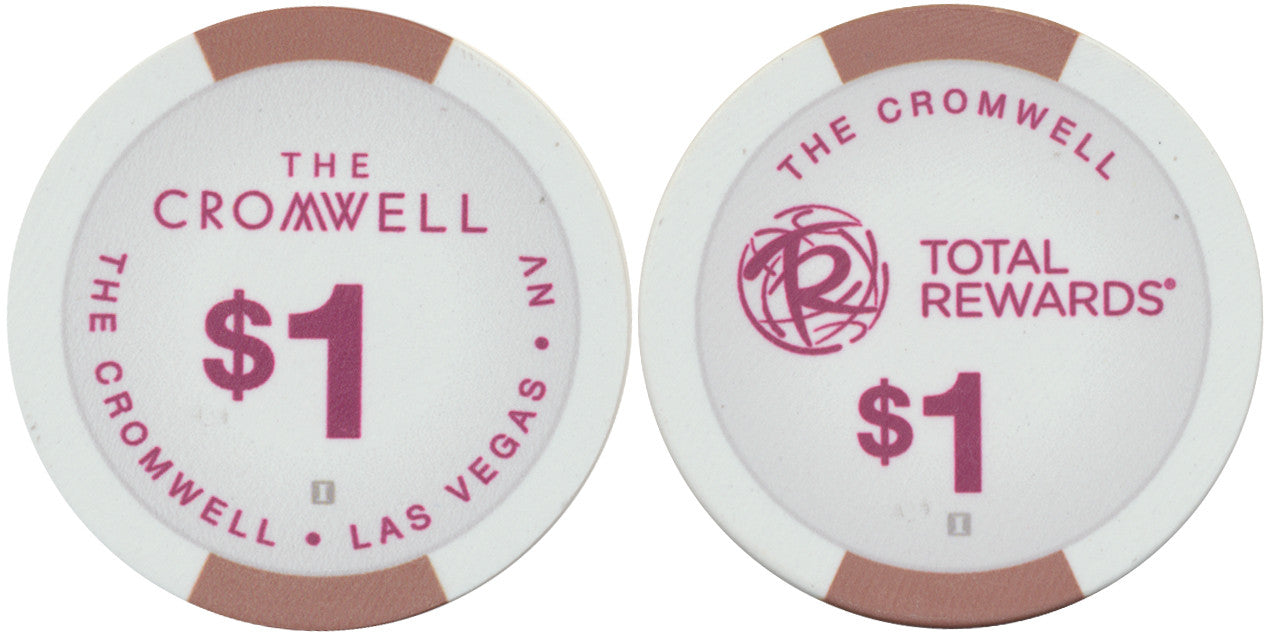 Cromwell, Las Vegas NV $1 Casino Chip - Spinettis Gaming - 1