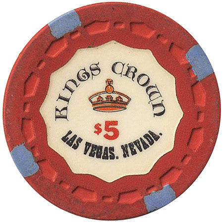 Kings Crown $5 (red) chip - Spinettis Gaming - 1