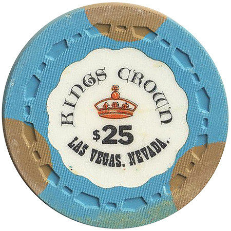 Kings Crown Las Vegas $25 (cyan) chip