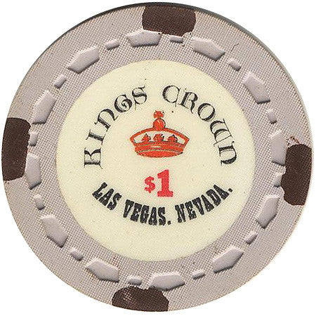 Kings Crown Las Vegas $1 chip
