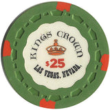 Kings Crown $25 (green chip - Spinettis Gaming - 2