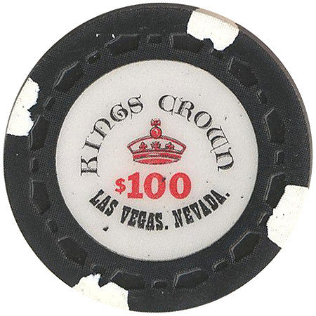 Kings Crown $100 chip