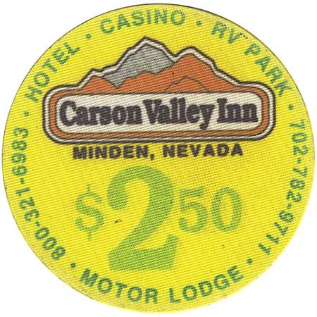 Carson Valley Inn $2.50 Chip