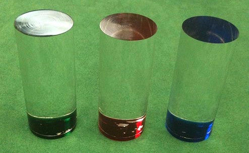 "Roulette Marker 1 1/4"" Cylinder Las Vegas Casino Style Acrylic Roulette Marker - Spinettis Gaming"
