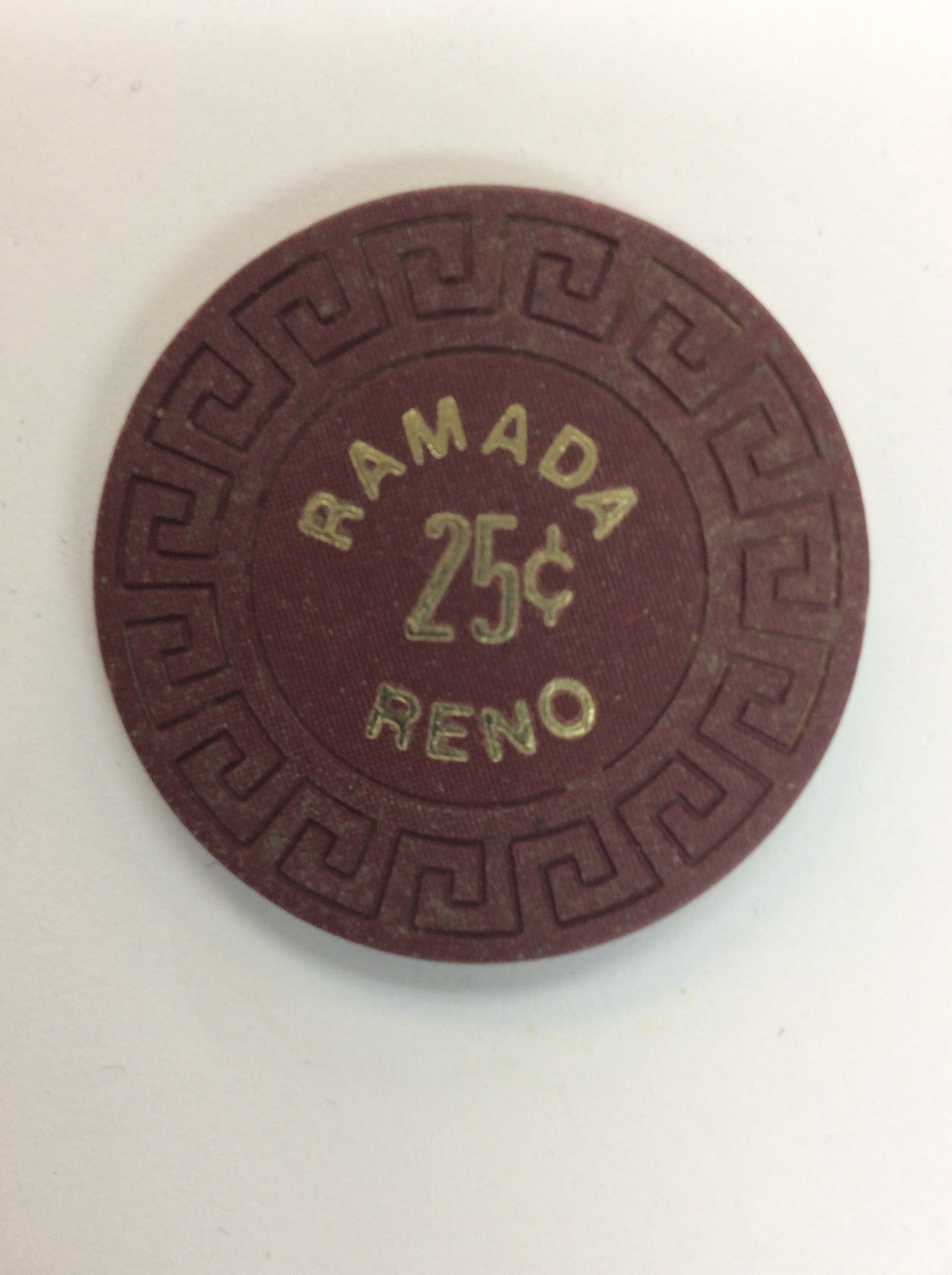 Reno Ramada 25cent (brown) chip - Spinettis Gaming