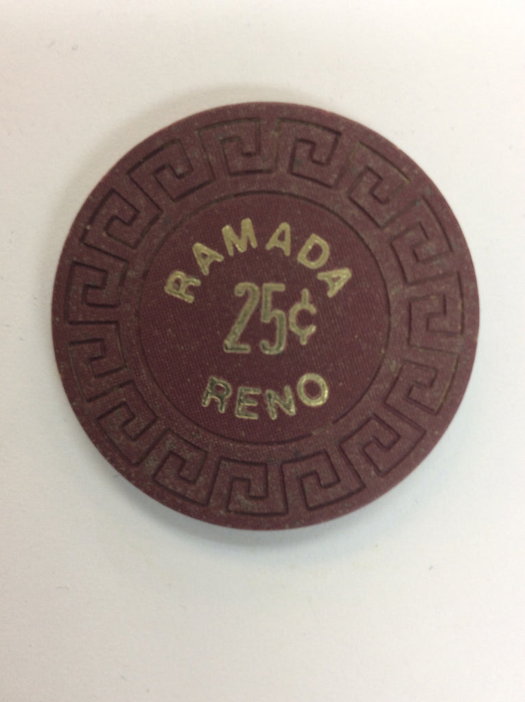 Reno Ramada Casino 25 Cent Chip 1984