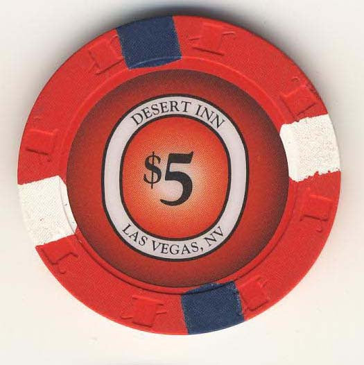 Desert Inn Casino Las Vegas $5 chip 1996