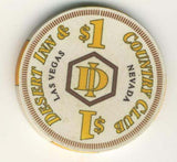 Desert Inn Casino Las Vegas $1 Chip 1991 - Spinettis Gaming