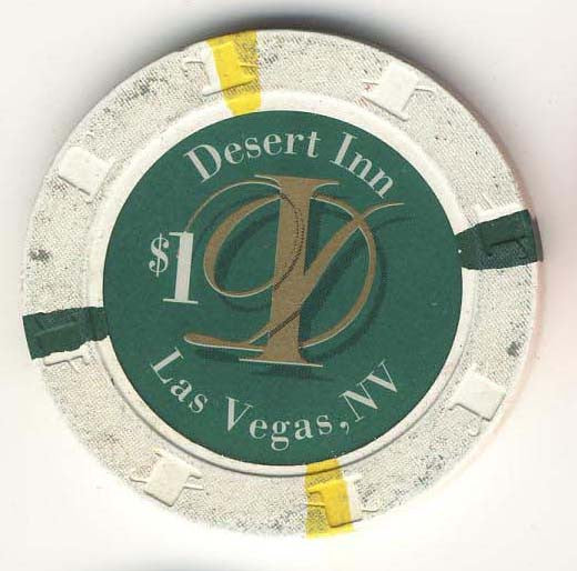 Desert Inn Casino Las Vegas $1 Chip 1997