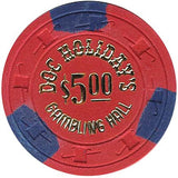 Doc Holiday's $5 Chip - Spinettis Gaming - 2
