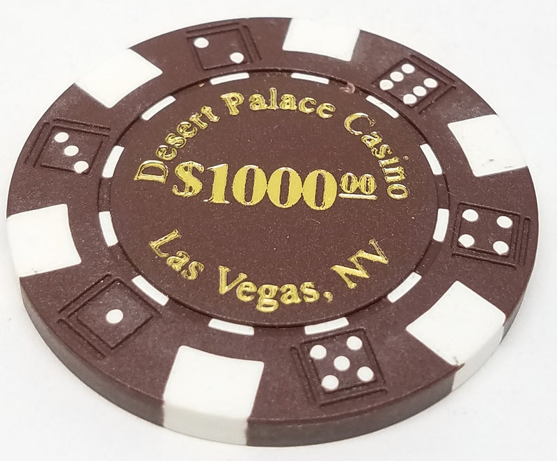 1000 Desert Palace Poker Chip Set (rental)