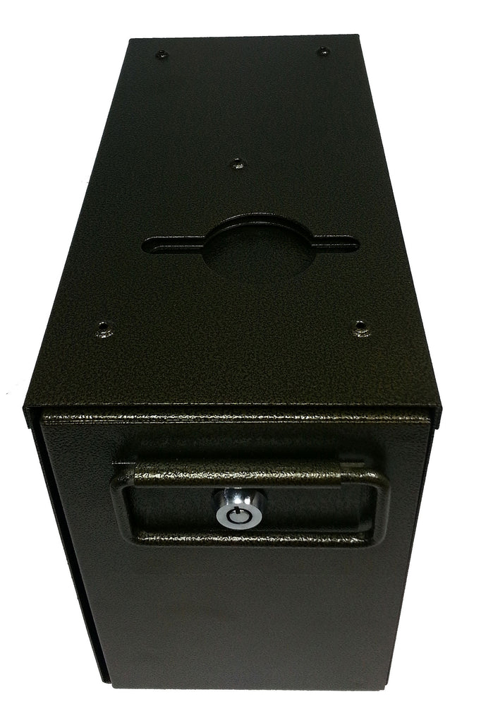 Slimline Drop Box with Shield and 2 Locks