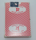 Joe Slyman's Royal Casino Used Red Playing Card Deck
