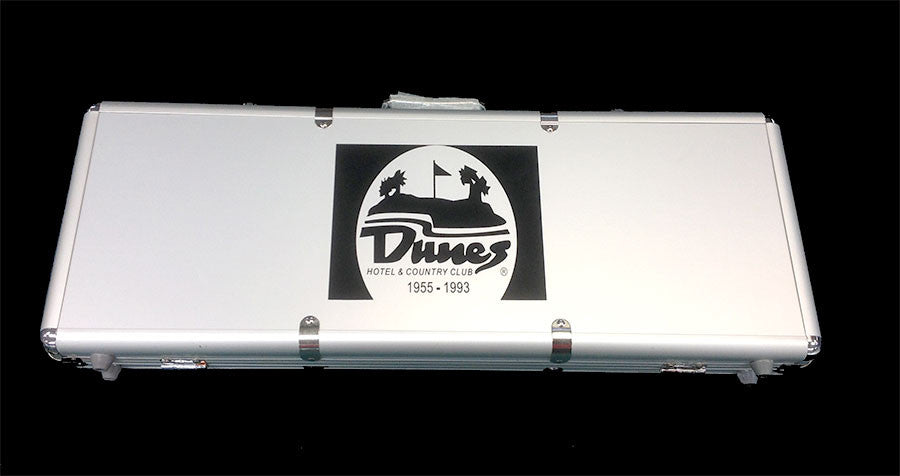 500 Dune Casino Chip Case Holds 500 Chips, 2 Decks and 5 Dice
