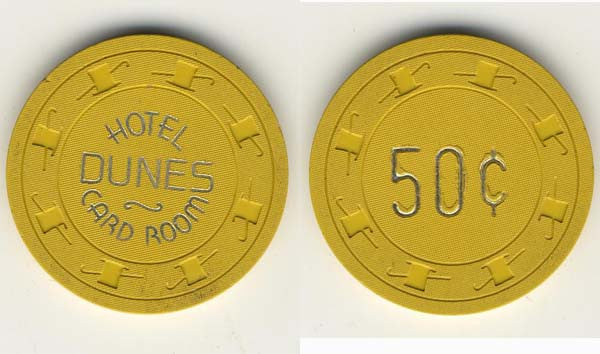 Dunes 50cent Chip - Spinettis Gaming
