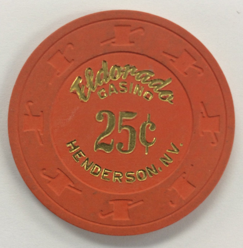 Eldorado Casino Henderson 25 Cent Chip 1990