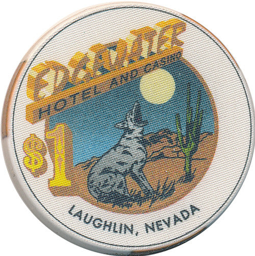 Edgewater, Laughlin NV $1 Casino Chip - Spinettis Gaming - 1