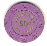 Edgewater 50cent  (dk purple 1997) Chip - Spinettis Gaming