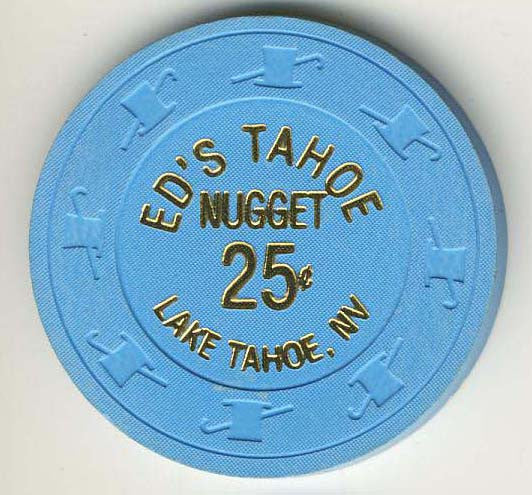Eds Nugget 25 (blue 1991) Chip
