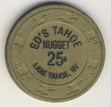 Ed's Nugget Tahoe 25 Chip - Spinettis Gaming - 2