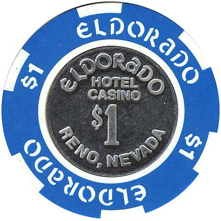 Eldorado Casino Reno NV $1 Chip 1989
