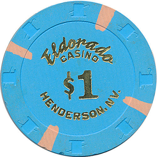 Eldorado, Henderson NV $1 Casino Chip - Spinettis Gaming - 1