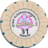 Eldorado, Reno NV (#1) $1 Casino Chip - Spinettis Gaming - 2