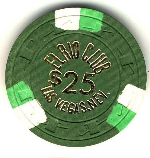 El Rio Club $25 (green 1973) Chip