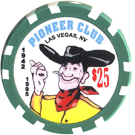Pioneer Club $25 Chip - Spinettis Gaming - 1