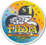 Fiesta, North Las Vegas NV (#2) $1 Casino Chip - Spinettis Gaming - 4