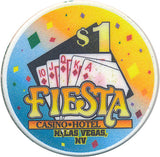 Fiesta, North Las Vegas NV (#2) $1 Casino Chip - Spinettis Gaming - 3