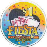Fiesta, North Las Vegas NV (#2) $1 Casino Chip - Spinettis Gaming - 5