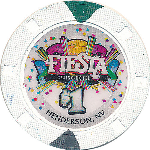 Fiesta, Henderson NV $1 Casino Chip - Spinettis Gaming - 1
