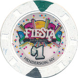 Fiesta, Henderson NV $1 Casino Chip - Spinettis Gaming - 2