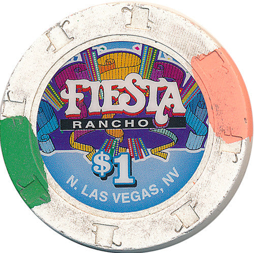 Fiesta Rancho, North Las Vegas NV $1 Casino Chip - Spinettis Gaming - 1