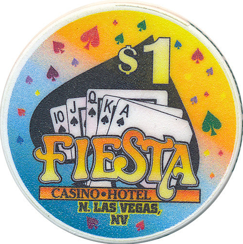 Fiesta, North Las Vegas NV (#2) $1 Casino Chip - Spinettis Gaming - 1