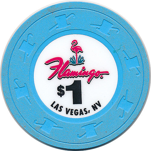 Flamingo, Las Vegas NV (#1) $1 Casino Chip - Spinettis Gaming