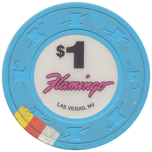 Flamingo Casino Las Vegas $1 Chip with Stripe 2010