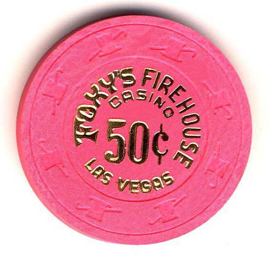 Foxys Firehouse 50cent (pink 1980s) chip - Spinettis Gaming