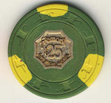 Fremont $25 (green) chip - Spinettis Gaming - 2