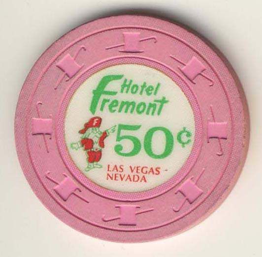 Fremont 50cent (pink 1980s) chip