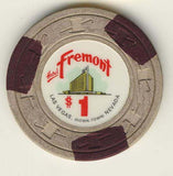 Fremont $1 (off/white 1967) chip - Spinettis Gaming - 2
