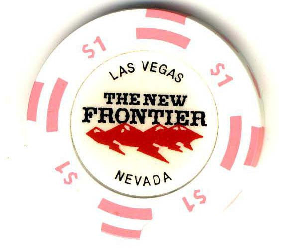 The New Frontier  $1 (pink) chip - Spinettis Gaming - 1