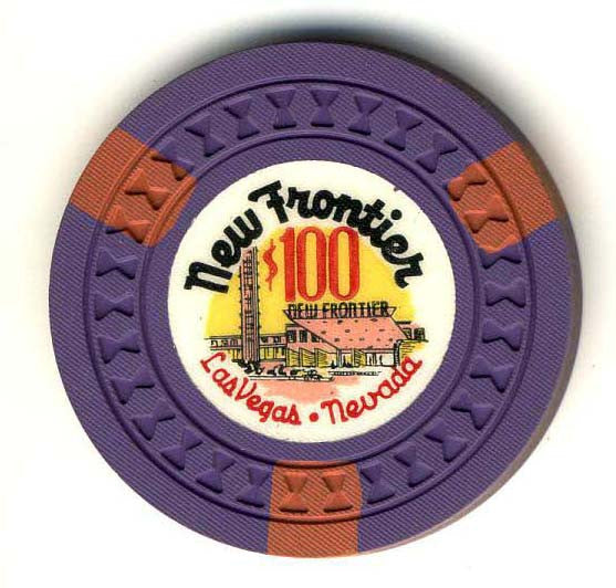 New Frontier Casino Las Vegas $100 Chip 1956 - Spinettis Gaming
