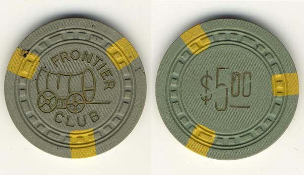 Frontier Club $5 chip
