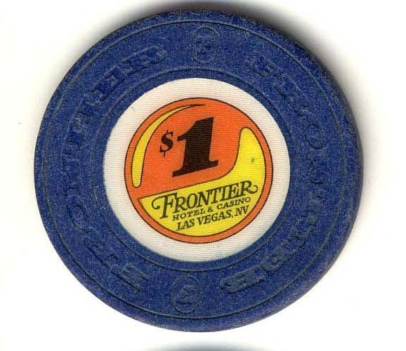 Frontier Hotel $1 (blue) chip - Spinettis Gaming - 1