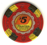 Frontier Hotel $5 (red) chip - Spinettis Gaming - 1