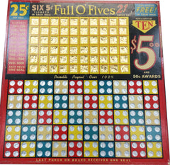 Full O' Fives Punchboard - Spinettis Gaming - 1
