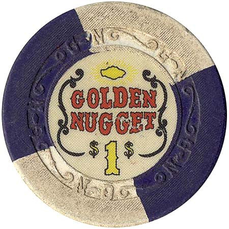 Golden Nugget $1 chip - Spinettis Gaming - 1
